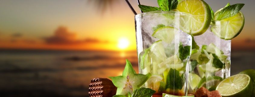 Mojito-am-Strand