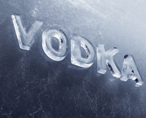 Wodka oder Vodka